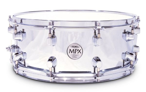 Mapex MPX 14 X 5.5 STEEL Snare drum- MPST4550